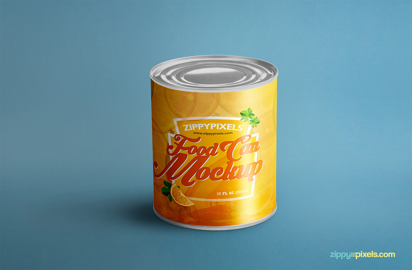 Food Can Mock-Up Free