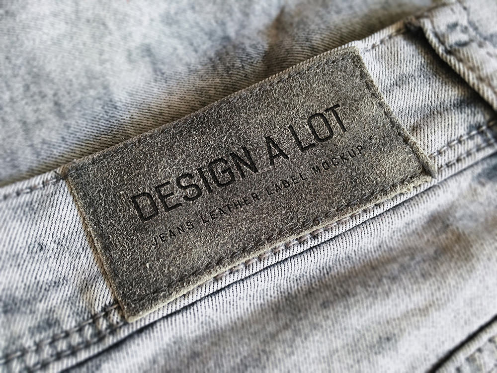 Jeans Label Free Mockup Sample
