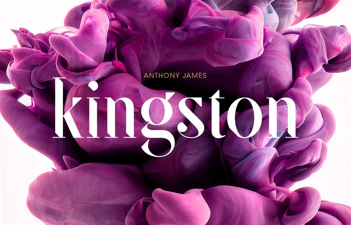 kingston-free-font-cover