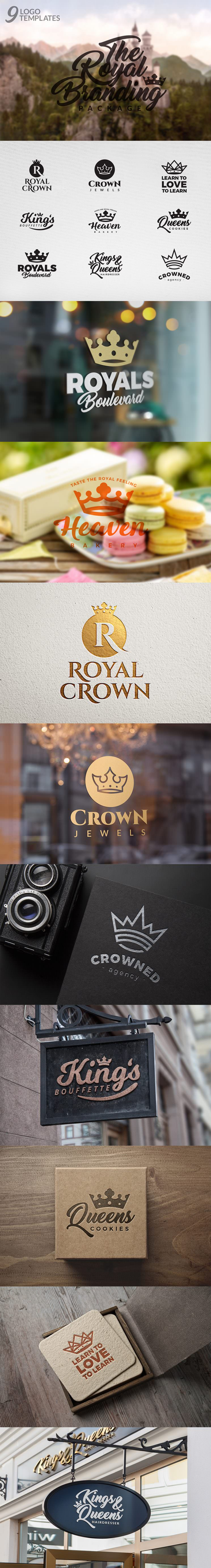 the-royal-branding-package-logos
