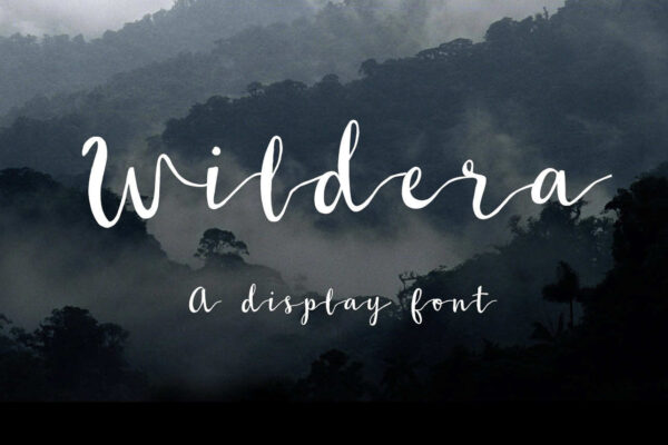 wildera-handwritten-free-font-cover