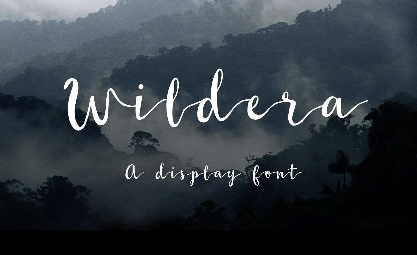Wildera Handwritten Free Font