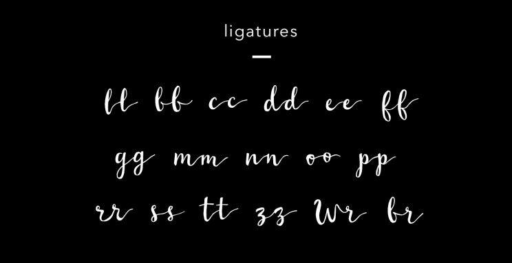 wildera-handwritten-free-font-ligatures