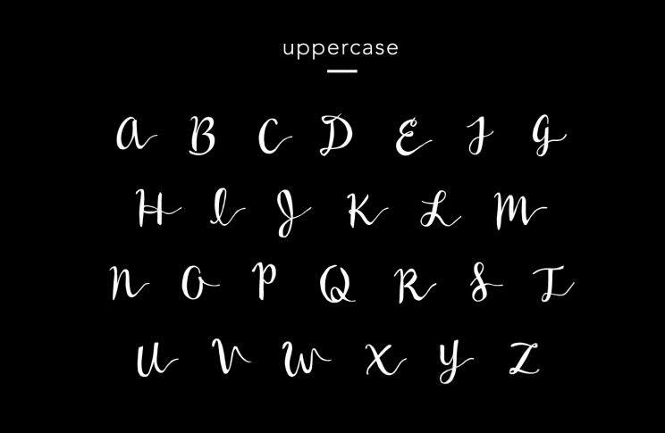 wildera-handwritten-free-font-uppercase