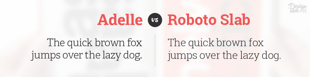 adelle-alternative-free-font-roboto-slab-preview