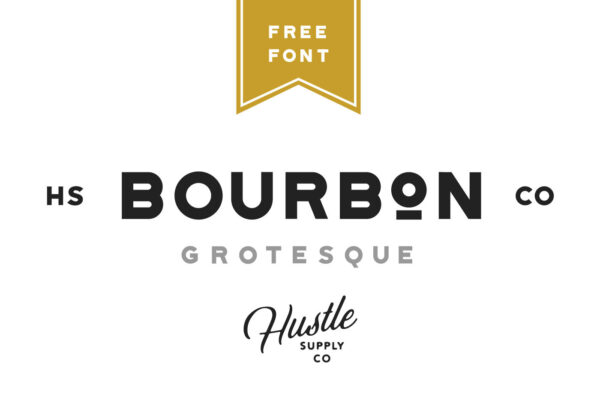 bourbon-grotesque-free-font-cover
