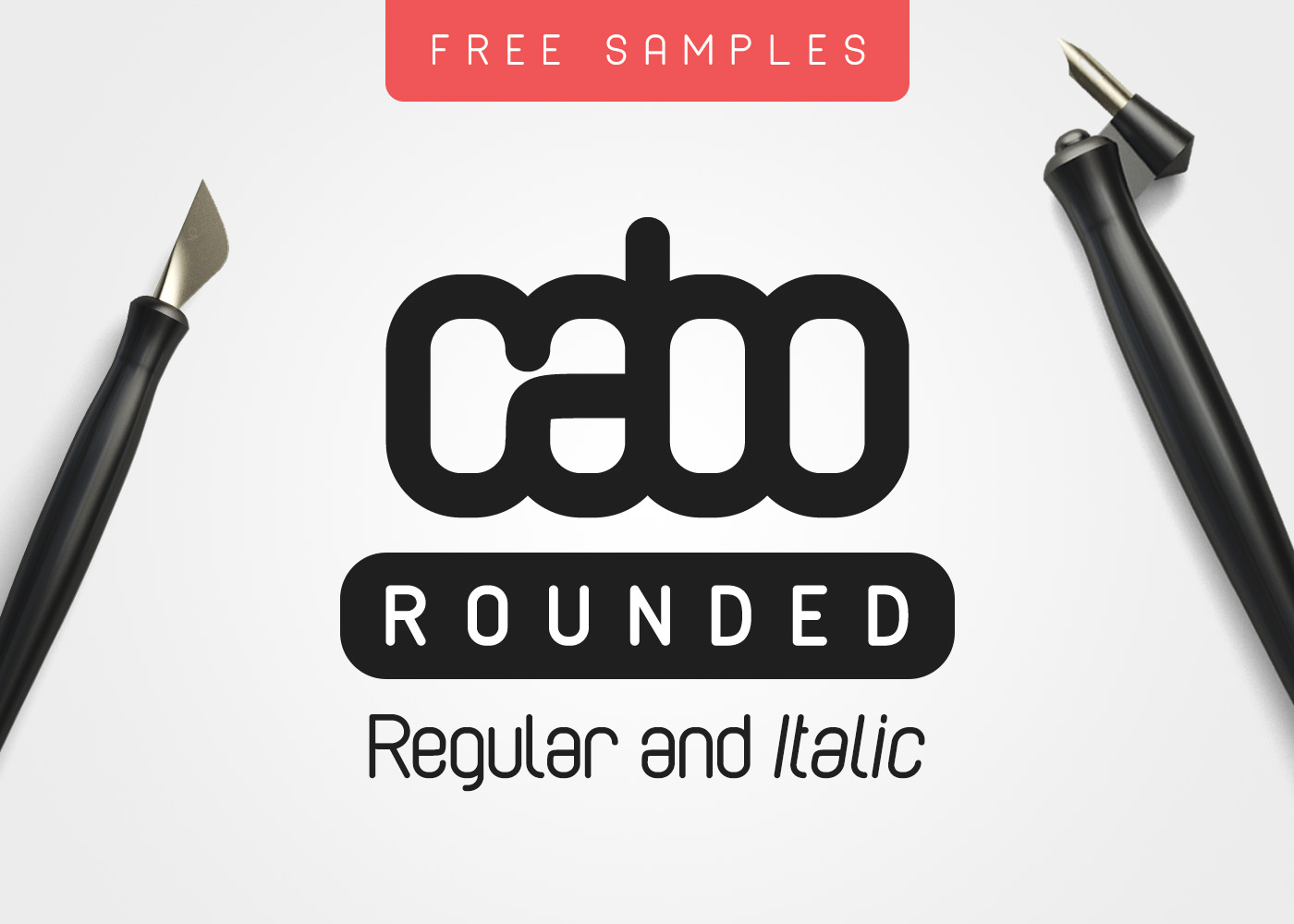 Cabo Rounded Free Font Samples