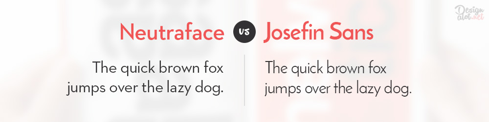neutraface-alternative-free-font-josefin-sans-preview
