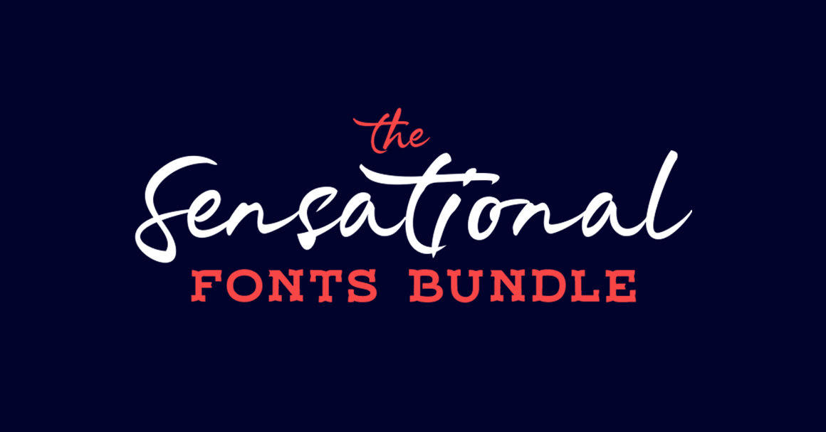 The Sensational Fonts Bundle – 99% OFF