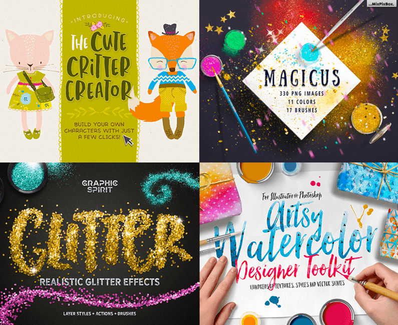The Vibrant, Artistic Design Bundle