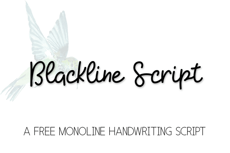 blackline-script-free-script-and-handwritten-fonts