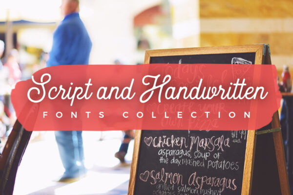 script-and-handwritten-fonts-collection