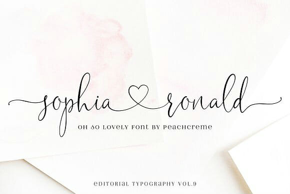 20 Best Script and Handwritten Fonts That Are Free or Really Cheap