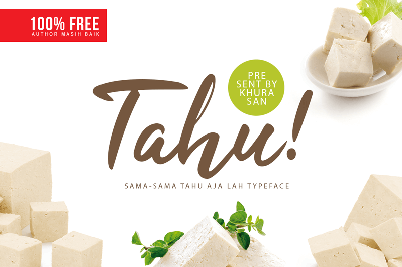 tahu-free-script-and-handwritten-fonts