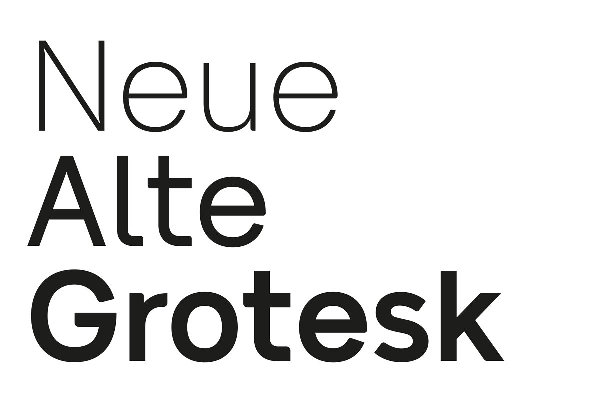 Best cheap font alternatives to Helvetica - Neue Alte Grotesk