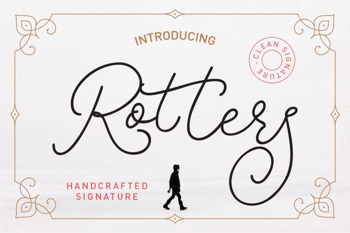 rotters script font featured