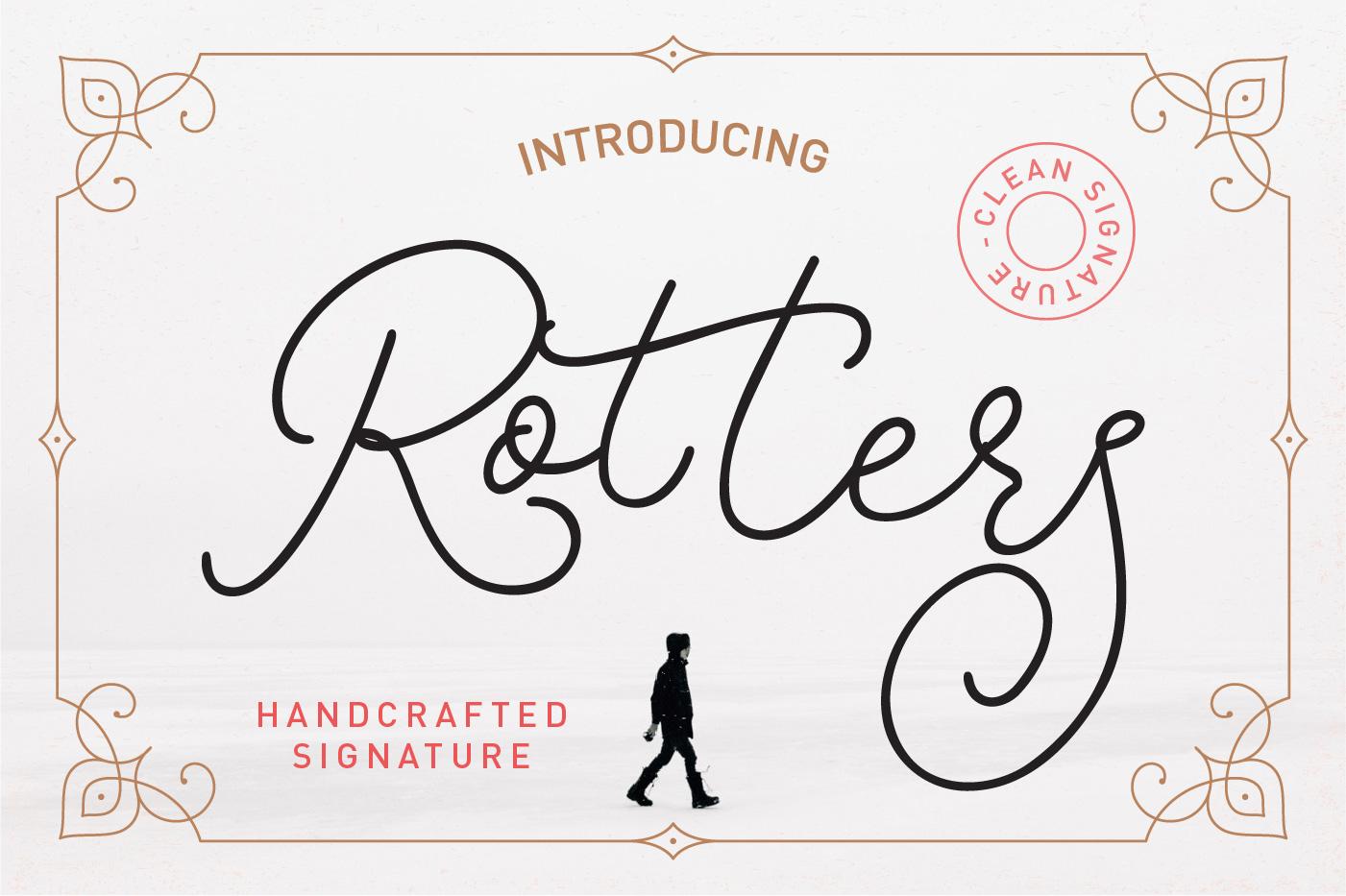 Rotters Script Free Font