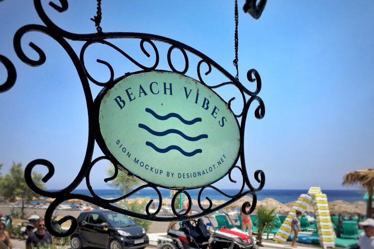 restaurant-by-the-beach-sign-mockup-preview