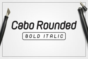 cabo-rounded-bold-italic-preview