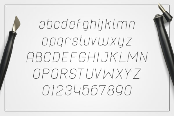 cabo-rounded-light-italic-alphabet