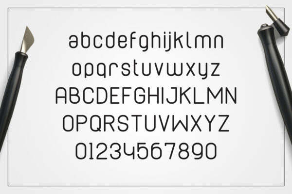 cabo-rounded-regular-alphabet